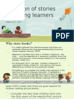 WEEK 5. Stories for Young Learners