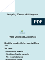 Lecture 5 Designing Hrd Programs