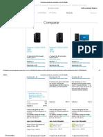 comparativa ordenador escritorio