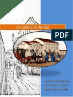 Cartilha Temática- Cidade Colonial