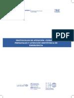 protocolo ginecologia obstetricia enezuela