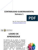 Semana 1 Contabilidad Gubernamental