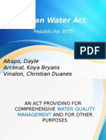 Clean Water Act