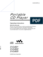 CD Player DEJ621