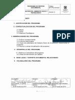 GFT-PG-570-001 Programa de Gestión Documental