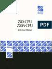 Zilog Z-80 CPU Technical Manual