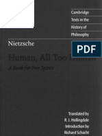 Nietzsche - Human All Too Human (CUP)