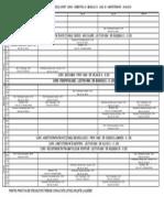 Orarul Pentru Ultimul Modul in PDF