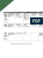 scheme of work y4 2015