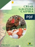 Manual Prático de Criação de Galinhas - Valdir Rocha