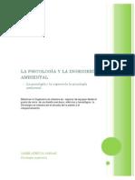 La Psicología y La Ingeniería Ambiental Trabajo