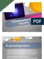 2 Fundamentos de la Técnica I