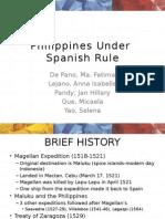 Philippines Under Spain Powerpoint