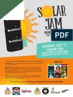 PUSH Solar Jam - Power to the People!