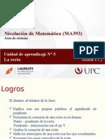 MA393 2015-1 Sesión 13.2 La Recta