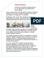 Trabajo Mercantilismo Español