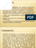 FUERZAS POLITICAS