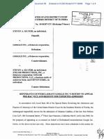 Silvers v. Google, Inc. - Document No. 93