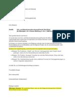 Mubr 2014 Brief Nebenkosten Anfechten