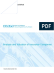 Analysis and Valuation of Insurance Companies - Final