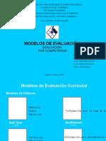 Modelos de evaluacion