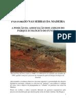 Pastoreio nas Serras da Madeira