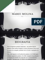 Mario Molina historia
