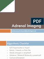 Adrenal Imaging - Algorithmic Approach