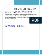 Curriculum Mapping and Real Time Assessment