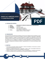 Presentacion Diplomado Derecho Inmobiliario Construccion