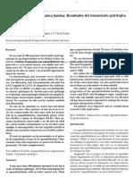 (art ) Espondilolistesis degenerativa lumbar. Resultados del tratamiento quirúrgico.pdf
