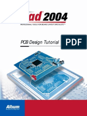 P-cad 2004 Pcb Tutorial | Printed Circuit Board | System