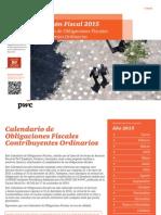 Calendario de Obligaciones Fiscales 2015 | PwC Venezuela