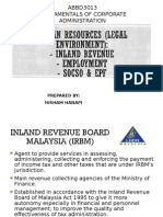 Chapter 3 Irb, Epf, Socso