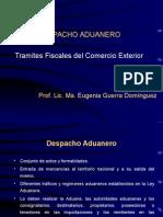 Aduanas, Tipo de Trafico y Documentos Mayo