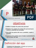 EQUIPO DE PROTECCION PERSONAL DE BOMBERO