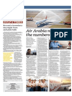Air Arabia Not in the Numbers Game - Gulf Times, Qatar - 2 July 2015