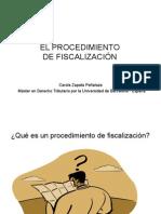 El Procedimineto de Fiscalizacion