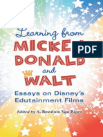 Learn From Mickey, Donald & Walt Essays on Disney's Edutainment Films { KT }