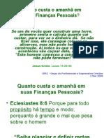 Finanças Pessoais - Abril 2008