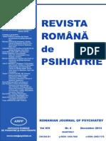 Revista Romana de Psihiatrie