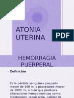 atonia uterina