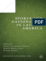 Sports and Nationalism in Latn/o America