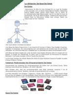 Ventajas de La Utilización de Base de Datos