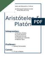 Aristeles y Platon