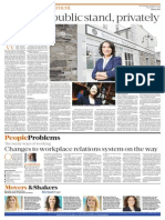 Carol Sinnott Profile in Sunday Business Post