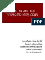 4. Sistema Monetario y Financiero Internacional
