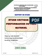 Rapport Ocp - Etude Critique Des Performances Du Parc Materiel (1)
