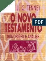 O Novo Testamento - Sua Origem e Análise - Merrill C. Tenney