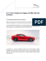 The Jaguar F-TYPE Review by Bloomberg_esp